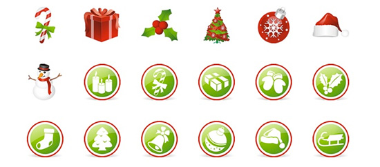60+ Holiday Season Icons For Christmas