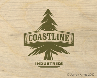 Creative Pine Tree Logo Design to Establish a Distinguish Market Identity