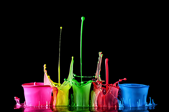 Fresh Liquid Splash Photographs by Markus Reugels