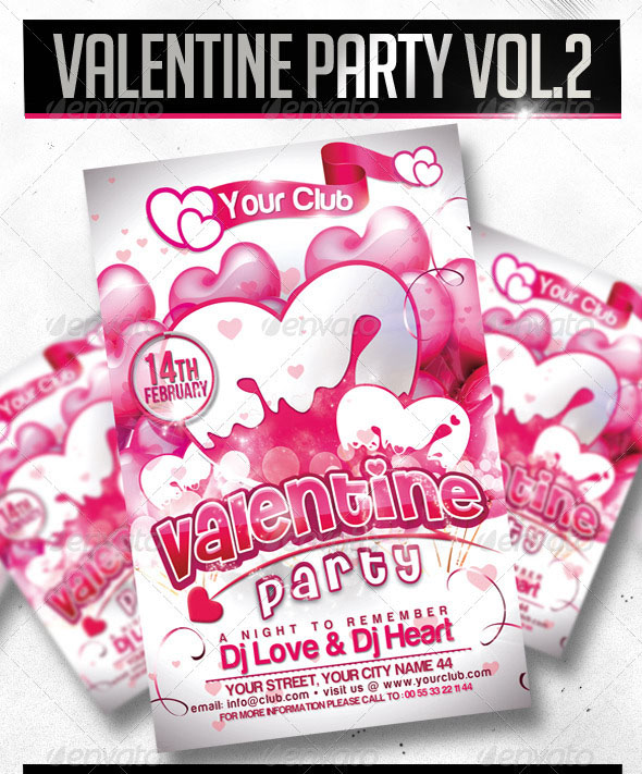 Massive Showcase of Valentine Flyer Design Templates
