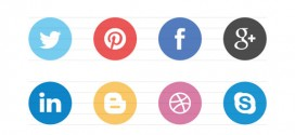 Freebie: Flat Social Icons EPS
