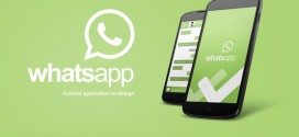Whatsapp Android App Re-design