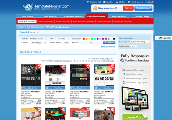 UPDATED: Win a WordPress Theme from TemplateMonster