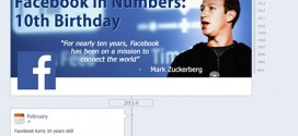 Infographic: Happy 10th Birthday Facebook!