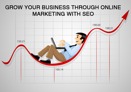 Grow Your Business Through Online Marketing With SEO